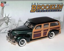 BROOKLIN BRK 191a, 1940 Buick MODEL 59 stationwagon, woodie, laisser Green, 1/43