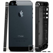 BACK BATTERY METAL REPLACEMENT HOUSING COVER CASE FOR IPHONE 5 5G - BLACK