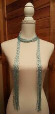 BRAND NEW WOMENS SCARF BY ICON COLLECTION - LIGHT BLUE WITH SEQUIN