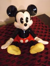 "Disney Mickey Mouse porcelain figurine 5.5""  Schmid music box Walt Disney"