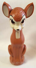 Vintage Bambi Soaky Bottle Soap Bubble Bath Disney Colgate Palmolive 11 oz