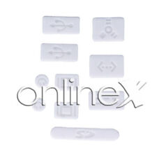 "9x Protector Anti-Polvo para APPLE MACBOOK PRO 13/15"" (SIN RETINA) Blanco a1116"