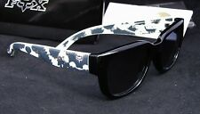 New Fox Racing The EDEN Bite It Black Women's Sunglasses Gray Lens