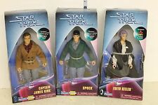 Star Trek City on the Edge of Forever Figure set of 3 Kirk, Spock, Keeler