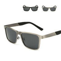 Retro Men's Polarized Metal Sunglasses Outdoor Sports Eyewear Eye Glasses New