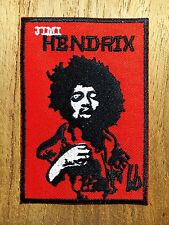 Jimi Hendrix Embroidered Sew Iron On Patch Guitarist Singer Music Rock Rock Band