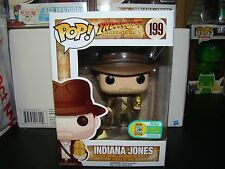 FUNKO POP INDIANA JONES WITH IDOL SDCC EXCLUSIVE  VHTF-FREE SHIP