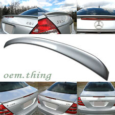 """SHIP OUT TODAY"" PAINTED MERCEDES BENZ W211 A TYPE REAR TRUNK SPOILER #775 ○"