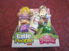 NEW Fisher Price Little People Disney Princess Rapunzel Friends Pascal Maximus