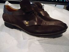 "DESIGNER ""FABI"" ITALY LEATHER SHOES,  SIZE EU-44, US-10 1/2. STUNNING!"