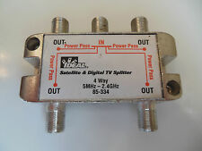 Ideal 85-334 Satellite and Digital TV  Splitter (For Satellite, CATV, Antenna)