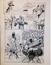 Robocop: Mortal Coils #4 Page 11 (Dark Horse, 1993) by Nick Gnazzo SIGNED