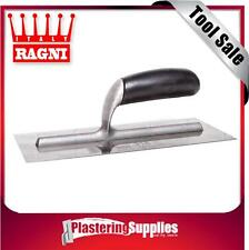 Ragni 318 280mm Steel Plastering Trowel Flat Made in Italy FREE SHIPPING