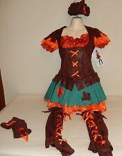 New Teen Wizard of Oz Scarecrow Costume Dress Teen standard