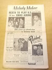 MELODY MAKER 1954 DECEMBER 4 TED HEATH ERIC DELANEY JAZZ BIG BAND SWING