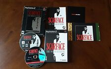 Scarface: The World is Yours Collector's Edition COMPLETE Sony PlayStation 2 PS2