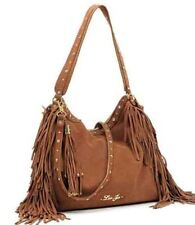 BORSA LIU JO DIANA TRACOLLA M BAG marrone brown LEATHER camoscio PELLE 100%saldi