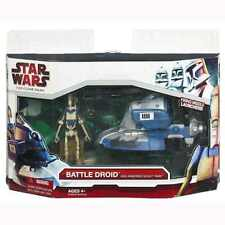 Star Wars Separatist Battle Droid & Armoured Scout Tank figure new