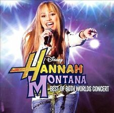 Miley Cyrus / Hannah Montana - Best of Both Worlds Concert / 2008 / CD / Disney