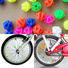 36X Beauty Coloured Bike Wheel Spoke Beads Decors Spokey Dokey Fits Kid Cycling
