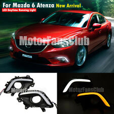 LED Daytime Running Light For Mazda 6 Atenza M6 DRL Fog 2013 2014 Turn Signal