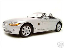 BMW Z4 SILVER 1:18 DIECAST MODEL CAR BY MOTORMAX 73144