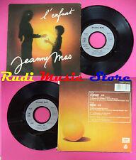 LP 45 7'' JEANNE MAS L'enfant Ideali 1986 france EMI 1733317 no cd mc dvd*