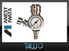 ANEST IWATA Air pressure gauge valve AFV-2 Supernova with quick couplings