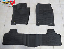 2016 Jeep Grand Cherokee Rubber Slush Mats Floor Mats Front, Rear OEM Mopar