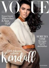VOGUE Magazine TURKEY November 2016  Kendall Jenner by Russell James NEW