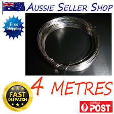 4 Metres 13f NICHROME RESISTANCE WIRE 28 SWG B&S 0.319MM Heating Acrylic Clay AU