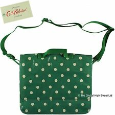 Cath Kidston 'Cath Kids' School Satchel Spot (emerald) *100% authentic* BNWT