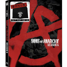 Sons of Anarchy Season 6 BLU-RAY with Bonus Knit Cap