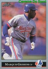 273   MARQUIS GRISSOM    MONTREAL EXPOS  BASEBALL CARD LEAF 1992