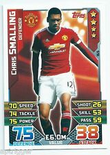 2015 / 2016 EPL Match Attax Base Card (165) Chris SMALLING Manchester United