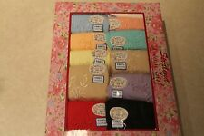 NWT Plus Size 13 or 6x Women's Lot 12 Pair Cotton Pretty Colors Briefs Underwear