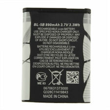 New 3.7V 890 mAh BL-5B BL5B Battery For Nokia N90 3230 5300 5070 6121 6080 O9