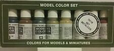 Vallejo acrylic paint,  Metallic colors set.