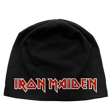IRON MAIDEN Beanie CLASSIC LOGO Mütze hat ♫ New Wave Of British Heavy Metal ♫