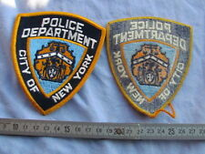 PATCH POLICE US POLICEMAN US 1960'S 1970'S NEW YORK
