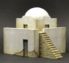 DioDump DD068 North African house `Derna` 1:72 scale diorama building