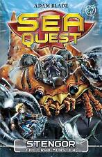Stengor the Crab Monster by Adam Blade (Paperback, 2013) Sea Quest