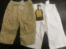 NEW BOYS DESIGNER TAILLE AND IKKS TROUSERS AGE 12M £70+RRP