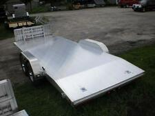R&R ALL ALUMINUM Trailer 7 x 20 Race Car Hauler Flat bed 7000# Show