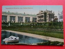BRUXELLES  :  EXPO de 1910  -  La Section Italienne.
