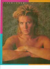 DURAN DURAN Simon  no shirt  magazine PHOTO / Poster/Clipping 11x8 inches