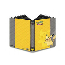 Ultra Pro Pokemon Pikachu  9 Pocket Page Portfolio Album Binder Holds 360 cards