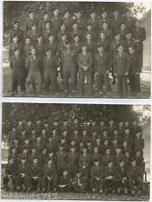 LOT 2 PHOTO War US soldiers ? uniform GUERRE uniforme soldats militaires 579 A