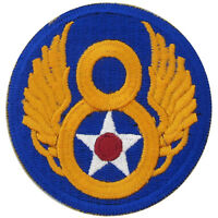 US Army USAAF 8th Air Force BADGE - WW2 Repro American Airforce Patch/Insignia