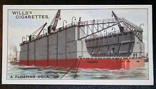 Southern Railway  Floating Dock  Southampton        Vintage Picture Card  VGC